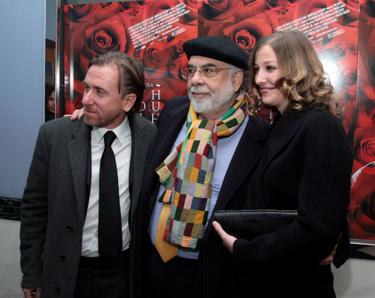 Francis Ford Coppola, Tim Roth and Alexandra Maria Lara at the New York premiere of &quot;Youth Without Youth&quot;.